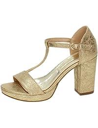 Xti 30559 Zapatos Tacones Xti Mujer Plata 40