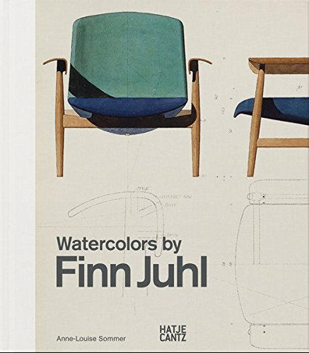 Watercolours by Finn Juhl por Anne-Louise Sommer