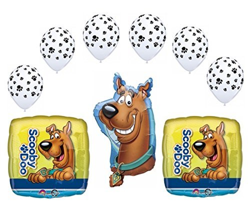 Scooby Doo Party Balloon Decoration Bouquet (9 Pieces) by Party ()