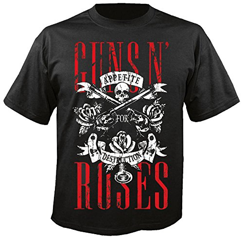 Guns N Roses - Skull - Appetite for Destruction - T-Shirt Größe L -
