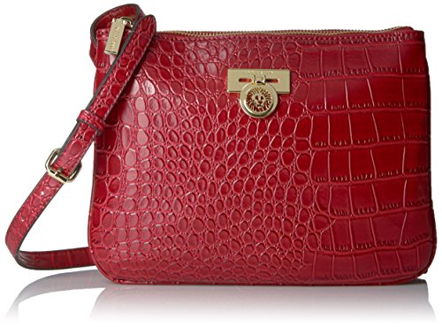 Anne Klein Total Look petite croix Corps, Cherry