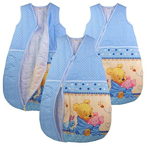 Baby Schlafsack Winnie Pooh Babyschlafsack Kinderschlafsack Vierjahreszeiten (116/122)