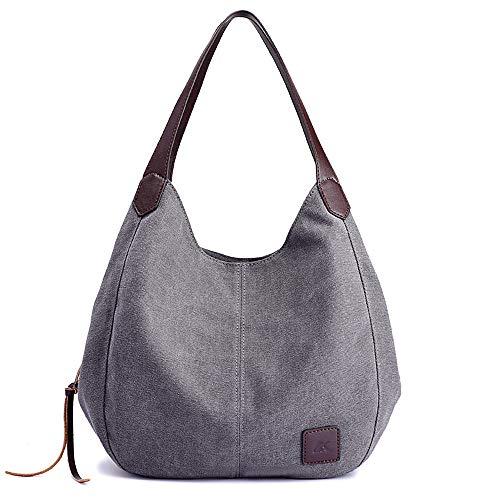 6e4369f14373 Canvas Handtasche Fashion Damen Schultertasche Multi-Beutel Tasche  Henkeltaschen Shopper