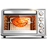 RHX Countertop Oven with Convection and Rotisserie with 38 liter oven home baking