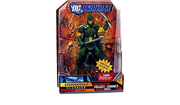 DC Universe Classics Series 11 Action Figure Steppenwolf Green Build Kilowog Piece!