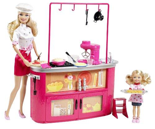 barbie w2761 barbie i can be insegnante di cucina: amazon.it ... - Giochi Di Cucina Di Barbie