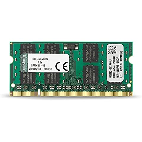 Kingston KAC-MEMG/2G Arbeitsspeicher 2GB (800MHz, 200-polig) DDR2-RAM