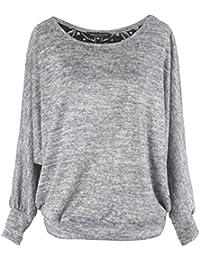 Amazon.fr   Gris - Pulls et gilets   Femme   Vêtements b2b02d63cda0