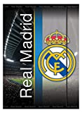 Real Madrid - Real Madrid - Cuaderno lenticular 3D (Mercury MR-25RM950) (Mercury 25RM950)