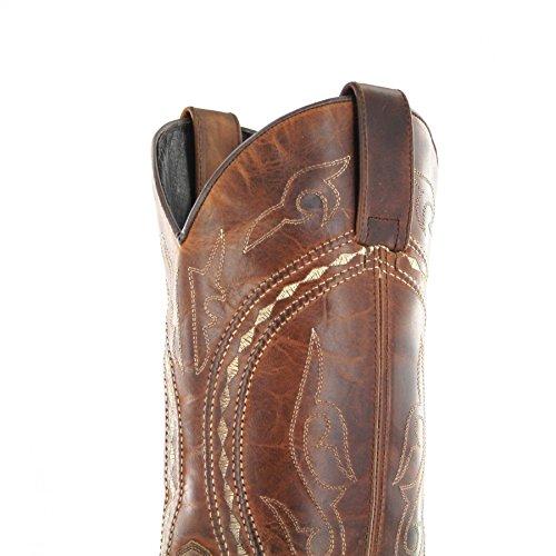 Sendra Boots , Bottes et bottines cowboy homme Tang Marron