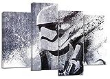Star Wars Stormtrooper Kunstwerk/Set von 4neue Leinwand Split Prints 81,3x 55,9cm