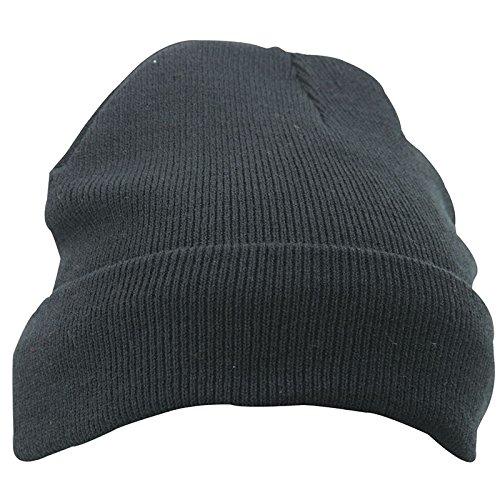 MYRTLE BEACH - Bonnet tricoté avec isolation Thinsulate - MB7551 - mixte homme / femme Noir