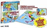 Ronchi Supertoys S.R.L. Puzzle Legno Piantina Italia