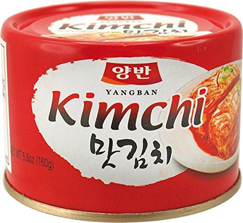 8er Pack DONGWON Kimchi, koreanisch eingelegter Kohl [8x 160g] KIM CHI / Kimchee