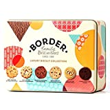Luxury Biscuit Collection Gift Tin Cookies - Border...