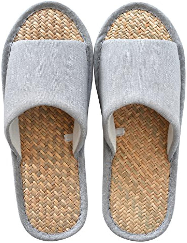 Ropa de verano, Zapatillas, pantuflas antideslizantes,41 / 42 gris