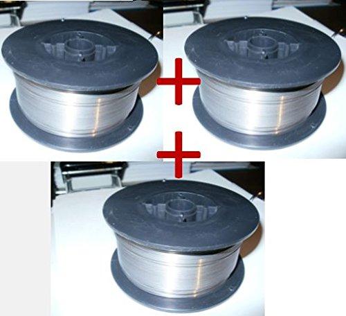 Fülldraht 1 KG Schweißdraht 0,8mm Spule MAG ohne Gas im Draht Schweißstäbe