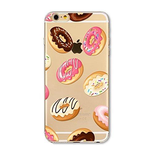 Schutzhülle iPhone 7Schutzhülle étui-case transparent Liquid Crystal TPU Silikon klar, Schutz Ultra Slim Premium, Schutzhülle Prime für Iphone 7-beignet und der Eis 6