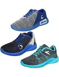 Earton Men Combo 3 Pair Sports Running Shoes
