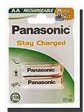 Panasonic NiMH Akku P6P HR6 Size M Mignon AA Accu empfohlen für DECT Telefone - Geräte - Schnurrlostelefone