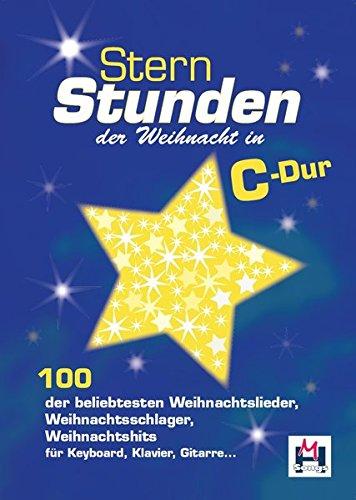 Sternstunden der Weihnacht in C-Dur: Songbook für Gitarre, Gesang (Schlüsselloch-center)