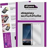 dipos I 2X Schutzfolie klar passend für Doogee BL7000 Folie Displayschutzfolie
