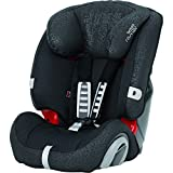 Britax Römer EVOLVA 123 Combination Car Seat, Group 1/2/3 (9 – 36 kg), Collection 2017, Black Thunder