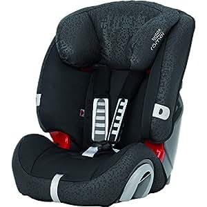 britax romer evolva car seat group 1 2 3 black thunder baby. Black Bedroom Furniture Sets. Home Design Ideas