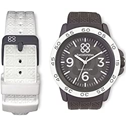 Barcelonetas Fun GRAY-WHITE Unisex watches W02GY