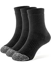 Galiva Calcetines acolchados trimestre extra suaves de algodón para niño - 3 pares