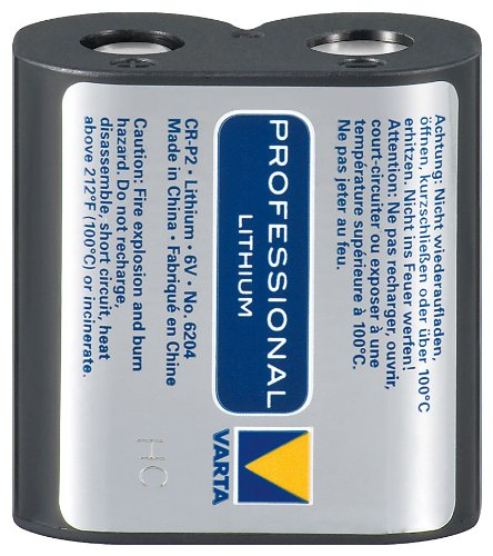 Varta CR-P2 6204 6 Volt Lithium 6-volt-lithium-batterie