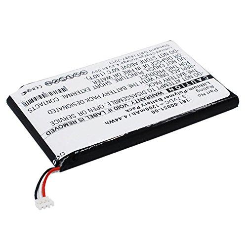 subtel® Qualitäts Akku kompatibel mit Garmin Nüvi 150LMT Nüvi 150T nüvi 2460LMT nüvi 2595LMT Nüvi 2660LMT Nüvi 2669LMT, 361-00051-00,361-00051-01,361-00051-02 1200mAh Ersatzakku Batterie (Nuvi Gps 2595lmt Garmin)