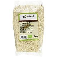 BIONSAN - BIO - Copeaux de Riz 500 g - Lot de 6