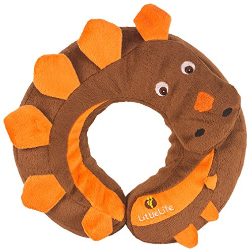 LITTLELIFE ANIMAL SNOOZE PILLOW (DINOSAUR)