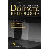 Interartifizialität: Die Diskussion der Künste in der mittelalterlichen Literatur (Sonderhefte der Zeitschrift für deutsche Philologie)