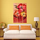 #7: DeStudio Flower Picture Image Wall Painting Stickers (Wall Covering Area : 60cm X 86cm )-13513