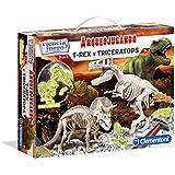 Ciencia y Juego - Arqueojugando T-Rex y Triceratops fosforescente , juego educativo (550548)