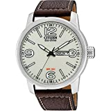 Citizen Herren-Armbanduhr XL Analog Quarz Leder BM8470-03AE
