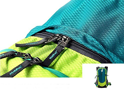 Outdoor-Sporttasche Tasche Männer und Frauen reisen Berg Rucksack Wandern Tasche Blackish Green