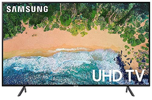 Samsung 108 cm (43 Inches) Series 7 4K UHD LED Smart TV UA43NU7100 (Black) (2018 model)