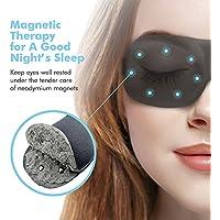 PaiTree Schlafmaske Damen und Herren, 3D Magnettherapie Augenmaske für Komplette Dunkelheit und Freies Bewegen... preisvergleich bei billige-tabletten.eu