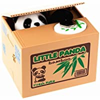 Preisvergleich für Spardose, Geld sparen Box Coin Bank, Spardose Spardose Panda Spardose stehlen Medaille pandaba, Batterie nicht im Lieferumfang enthalten