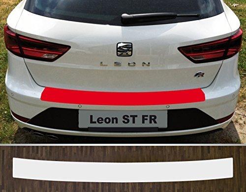 is-tuning Passgenau für Seat Leon ST FR, Facelift ab 2017 Lackschutzfolie Ladekantenschutz Transparent