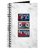 CafePress Pepsi Flashback Tapes Spiralbuch Notizbuch, persönliches Tagebuch, Punktraster