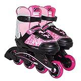 Best Sport Mädchen Inline-skates Inline-Skates, pink/schwarz, 29-34, 2307258