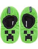 Minecraft Creeper Boy's Slipper Socks (2.5 UK)