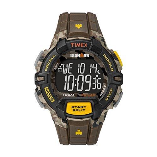 Timex De los Hombres Ironman 30Lap   Temporizador de intervalos Rugged Camuflaje   Reloj Deportivo tw5m02100