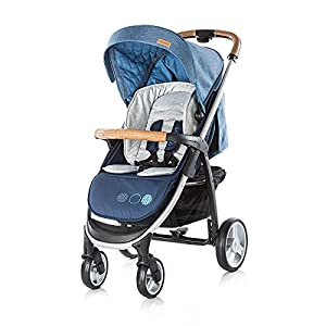 Chipolino Baby Stroller and Carry Cot Avenue, Navy   6