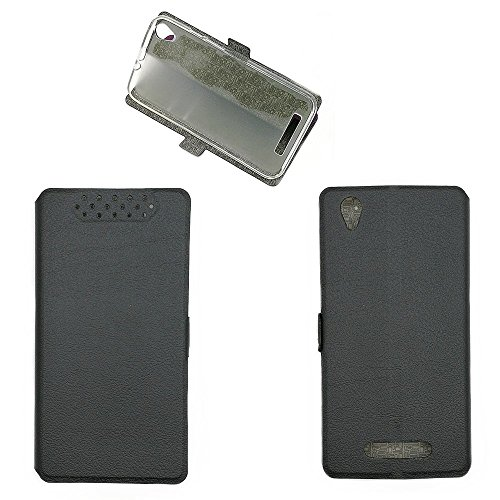 QiongniAN Hülle für Acer Liquid Z630S T04 Hülle Schutzhülle Case Cover Black