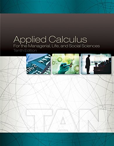 PDF][Download] Applied Calculus for the Managerial, Life